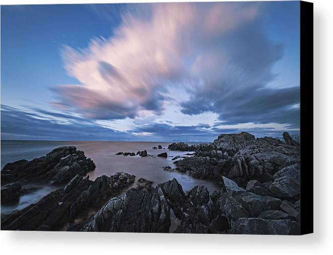 Frank Olsen Canvas Print featuring the photograph Drifting Clouds II by Frank Olsen