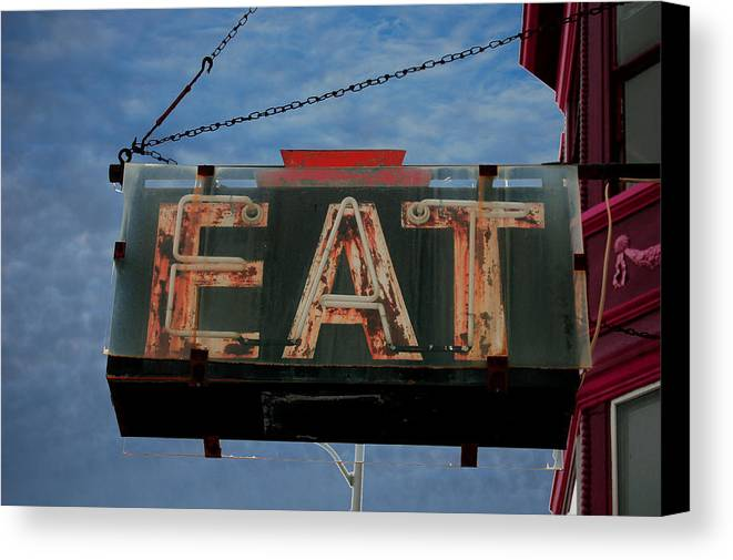 Eat Canvas Print featuring the photograph Eat by Jame Hayes