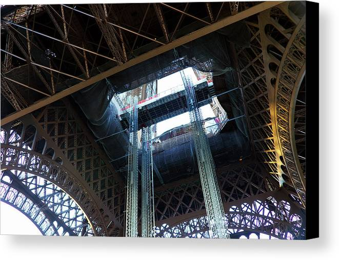Eiffel Tower Canvas Print featuring the photograph Eiffel Tower 6 by Craig Andrews