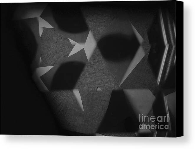 Abstract Canvas Print featuring the photograph El Mundo by Alwyn Glasgow
