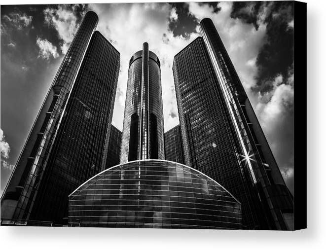 Rencen Canvas Print featuring the photograph Empire by Stephen Crosson