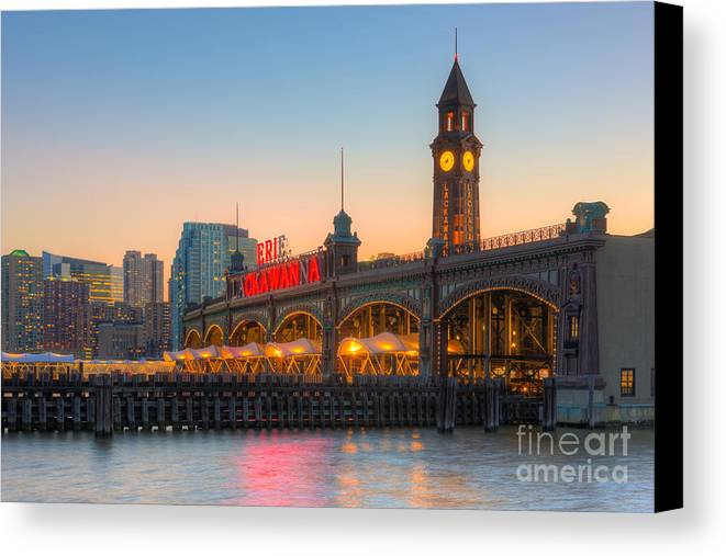 Clarence Holmes Canvas Print featuring the photograph Erie Lackawanna Terminal Iv by Clarence Holmes