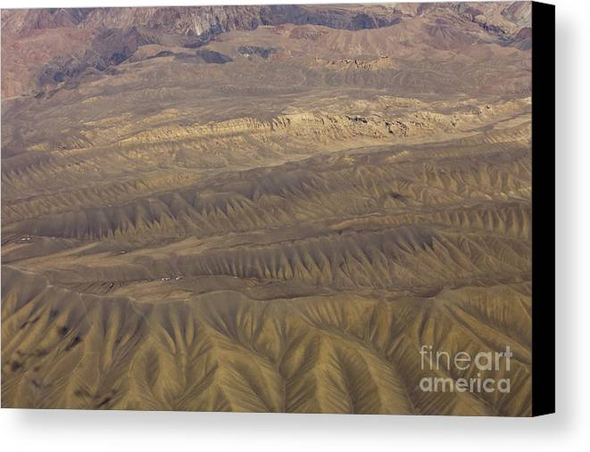 Erosion Canvas Print featuring the photograph Eroded Hills by Tim Grams