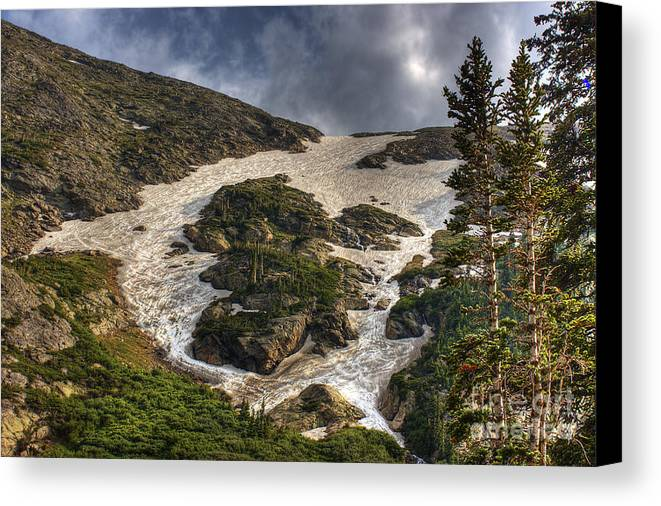 Landscape Canvas Print featuring the photograph Extreme Trail by Pete Hellmann