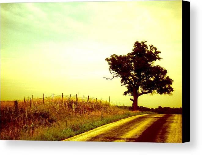 Iowa Canvas Print featuring the photograph Faded Sky by Jame Hayes