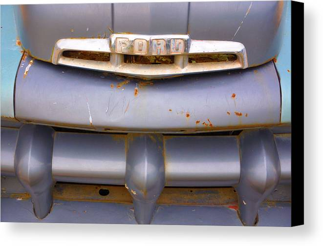Vehicles Canvas Print featuring the photograph Fix Or Repair Daily by Jan Amiss Photography