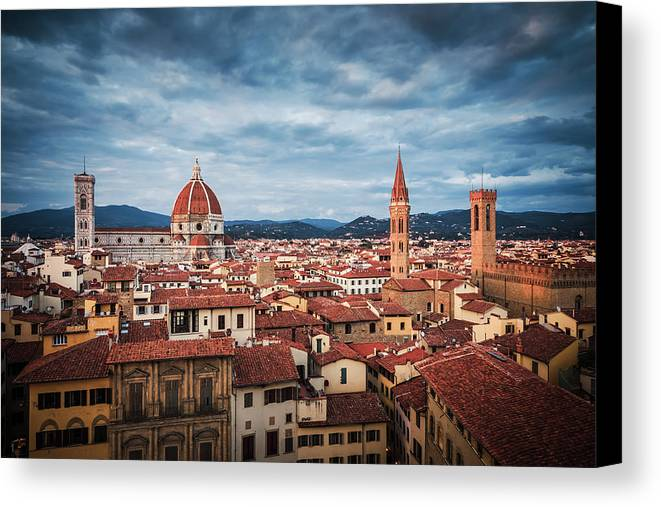 Florence Canvas Print featuring the photograph Florence by Alexander Voss