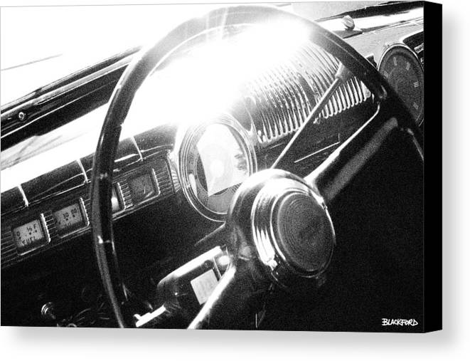 Ford Canvas Print featuring the photograph Ford Super Deluxe by Al Blackford