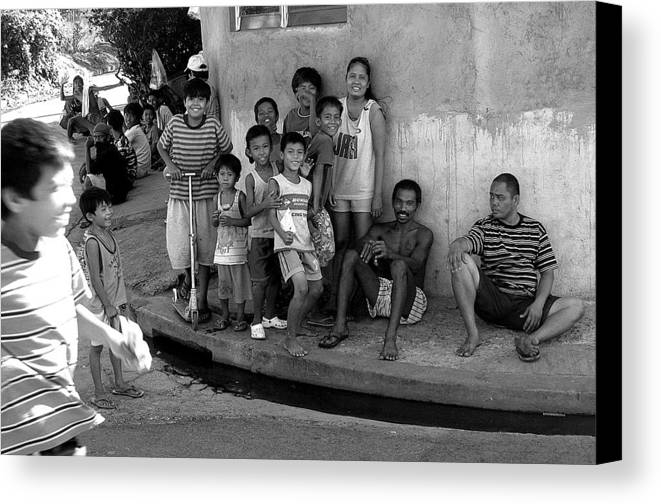 Photographer Canvas Print featuring the photograph Gathering 3 by Jez C Self