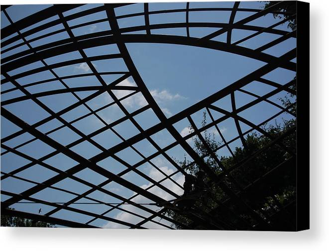 Sky Canvas Print featuring the photograph Geometry by Siobhan Yost