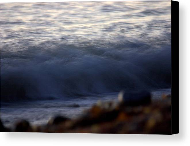 Landscape Canvas Print featuring the photograph Ghost Wave by Brad Scott