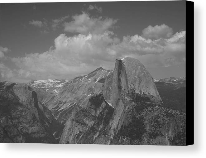 Half Dome Canvas Print featuring the photograph Glacier Point by Travis Day