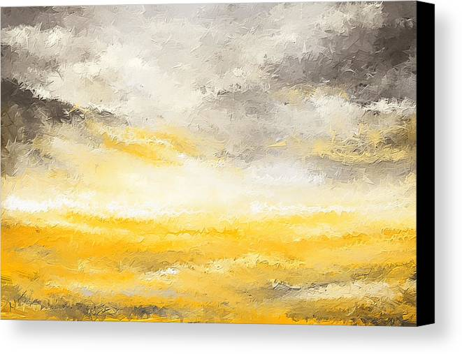 Gloomy Sunny Day Canvas Print Canvas Art By Lourry Legarde