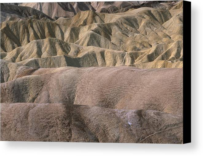 Death Valley National Park Ca. Canvas Print featuring the photograph Golden Canyon - Death Valley National Park by Soli Deo Gloria Wilderness And Wildlife Photography
