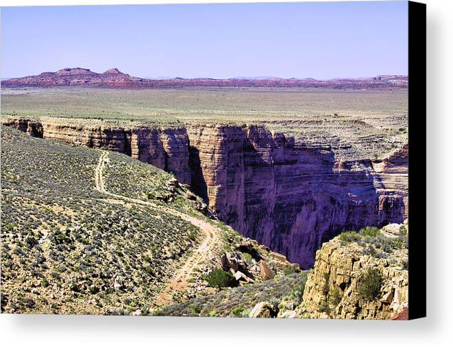 Grand Canyon Canvas Print featuring the photograph Grand Canyon 2268 by Sharon Broucek