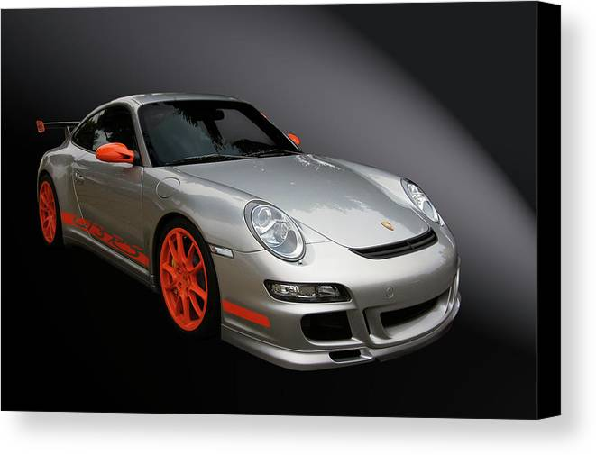 Porsche Canvas Print featuring the photograph Gt3 Rs by Bill Dutting