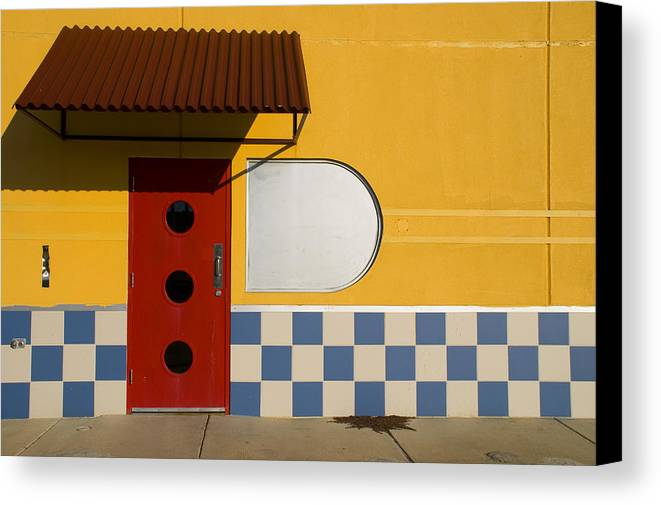 Architecture Canvas Print featuring the photograph Happy Days by Skip Hunt