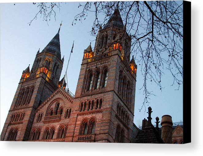 Jez C Self Canvas Print featuring the photograph History Museum by Jez C Self
