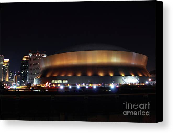 New Orleans Canvas Print featuring the photograph Home Sweet Dome by James Foshee