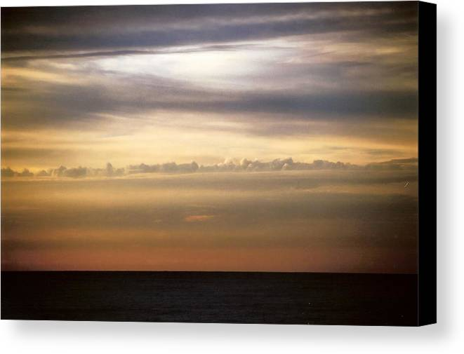 Landscape Canvas Print featuring the photograph Horizontal Number 11 by Sandra Gottlieb