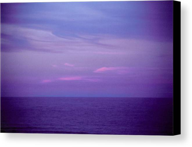 Landscape Canvas Print featuring the photograph Horizontal Number 6 by Sandra Gottlieb