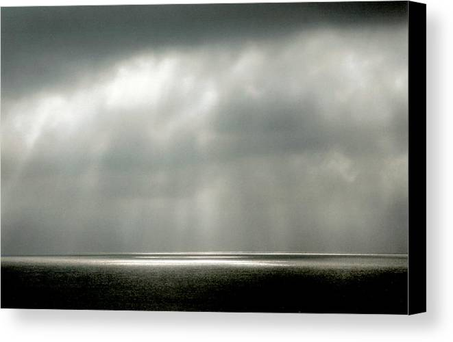 Landscape Canvas Print featuring the photograph Horizontal Number 9 by Sandra Gottlieb