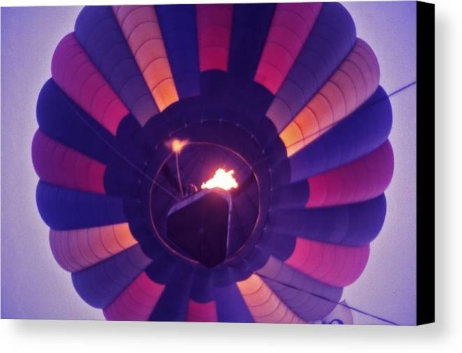 Hot Air Balloon Canvas Print featuring the photograph Hot Air Balloon - 7 by Randy Muir