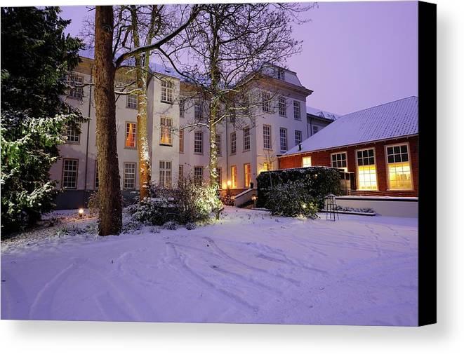 Hotel Canvas Print featuring the photograph Hotel Karel V In Utrecht 12 by Merijn Van der Vliet