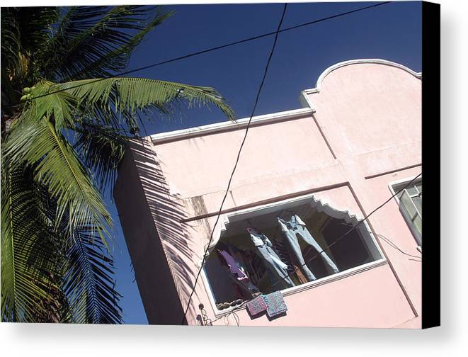 Photographer Canvas Print featuring the photograph Housing 3 by Jez C Self