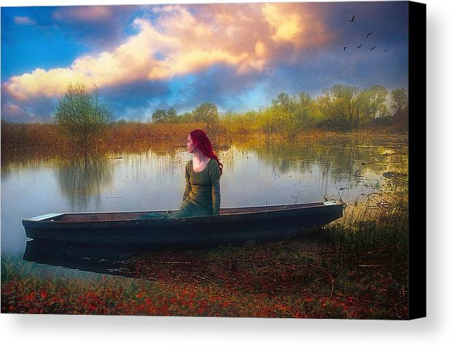 Waiting Canvas Print featuring the photograph I Will Wait For You by John Rivera