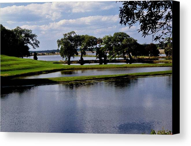 Lake Canvas Print featuring the photograph Charleston South Carolina by Gary Wonning