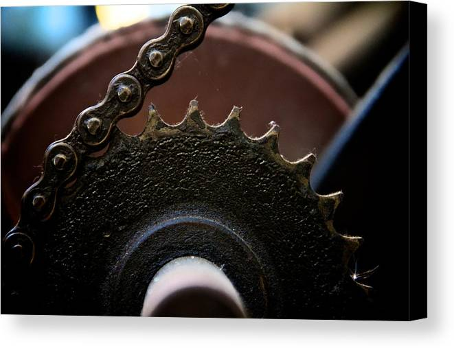 Machinery Canvas Print featuring the photograph Industrial Revolution by Odd Jeppesen