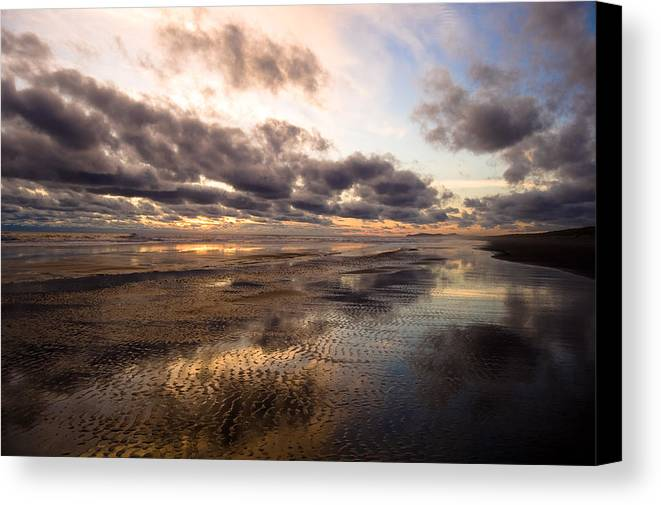 Landscape Canvas Print featuring the photograph Infinity by Jennifer Owen