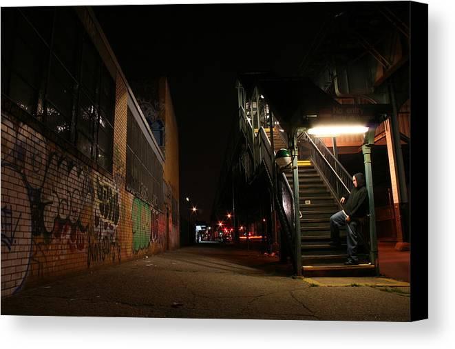Jayhoc Canvas Print featuring the photograph Jayhoc Waits by Jason Hochman