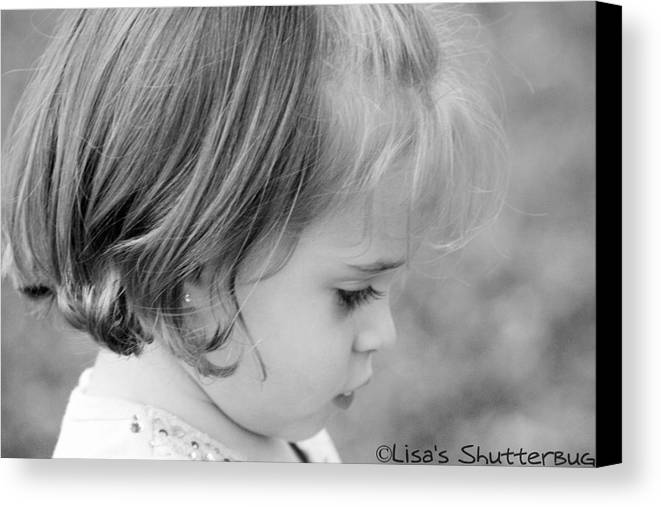 Canvas Print featuring the photograph Julie 3 by Lisa Johnston