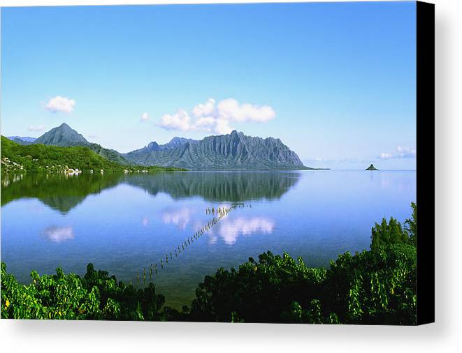 Kaneohe Bay Canvas Print featuring the photograph Kaneohe Bay by Kevin Smith