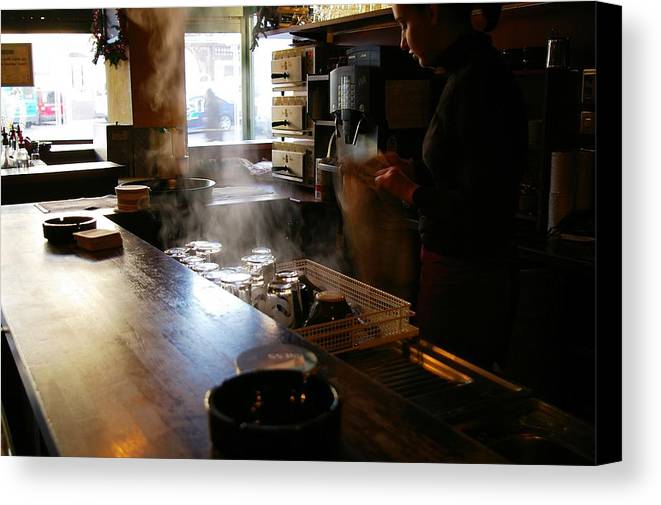 Bar Canvas Print featuring the photograph Last Call by Don Prioleau