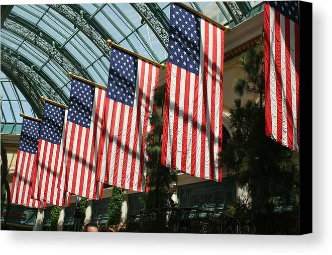 Liberty Canvas Print featuring the photograph Liberty by Amy Holmes