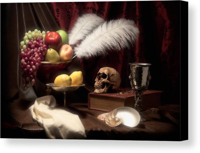 Abundance Canvas Print featuring the photograph Life And Death In Still Life by Tom Mc Nemar