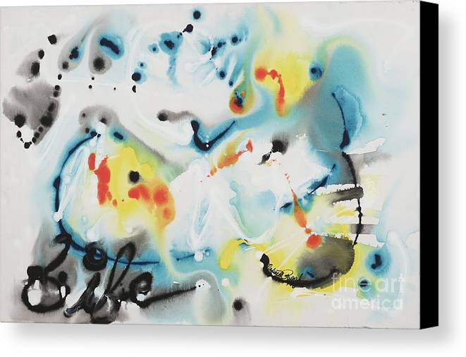 Life Canvas Print featuring the painting Life by Nadine Rippelmeyer