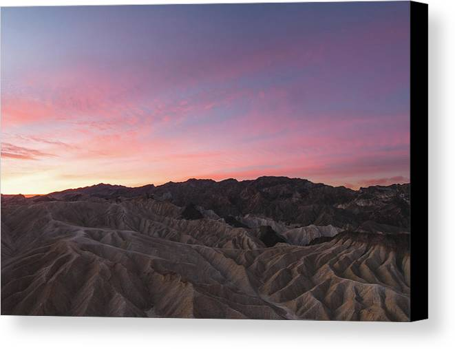 Death Valley Canvas Print featuring the photograph Lifeless by Mark Basarab