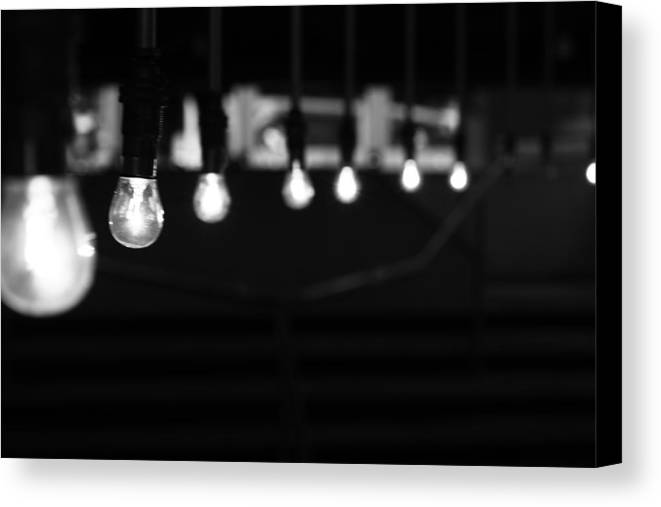 Horizontal Canvas Print featuring the photograph Light Bulbs by Carl Suurmond