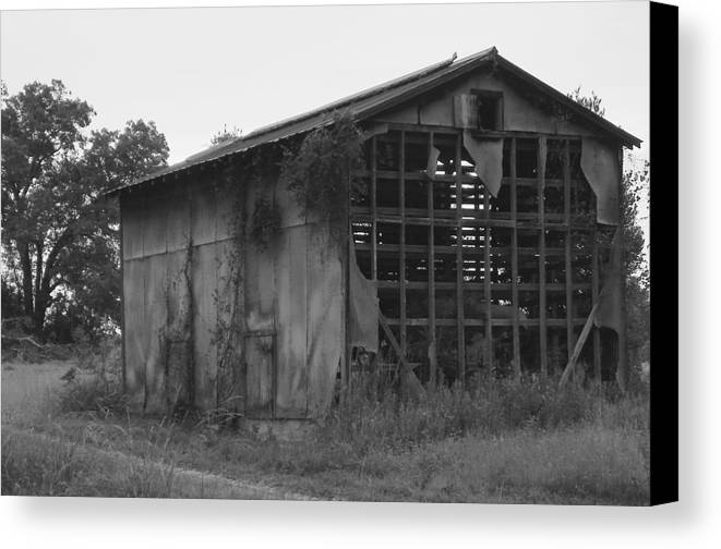 Lanscape Canvas Print featuring the photograph Long Forgotten by Mike Farmer