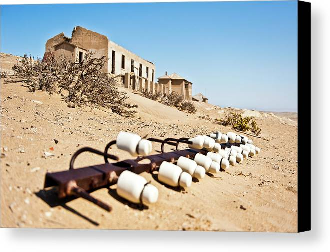 Namibia Canvas Print featuring the photograph Long Gone by Charel Schreuder