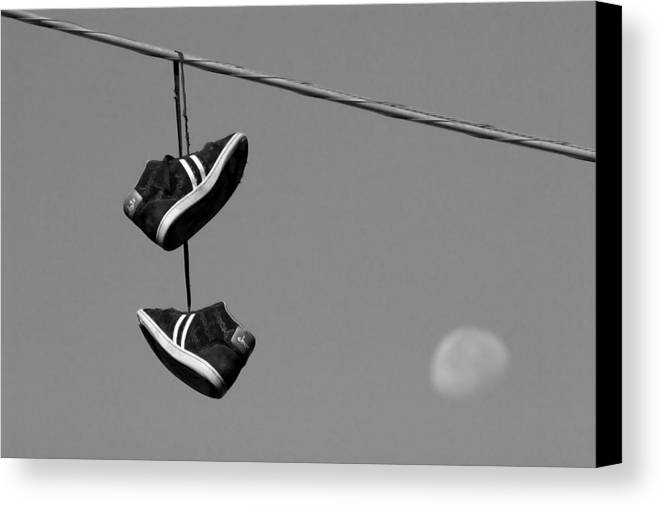 Shoes Canvas Print featuring the photograph Loony by Kevin Brett