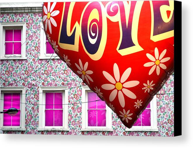 Jez C Self Canvas Print featuring the photograph Love Above All by Jez C Self