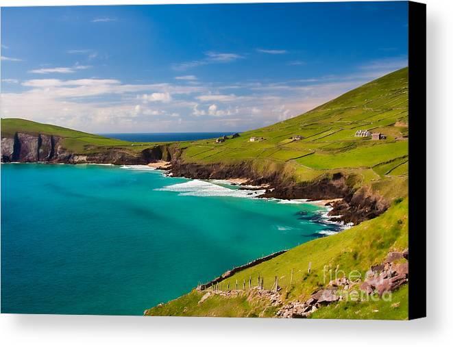 Ireland Canvas Print featuring the photograph Magic Lands by Gabriela Insuratelu