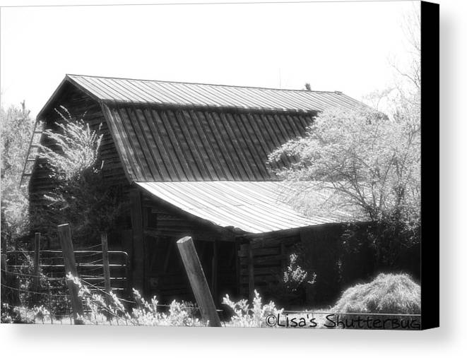 Barn Canvas Print featuring the photograph Mcdonald 4 by Lisa Johnston