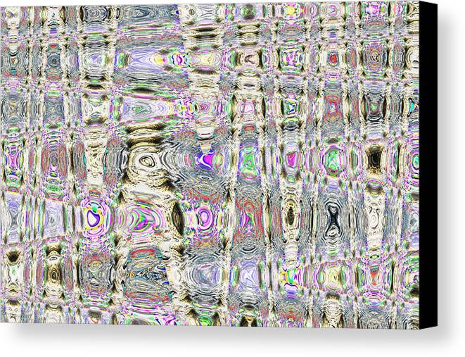 Abstract Canvas Print featuring the digital art Melodious by Joshua Sunday