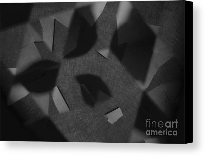 Abstract Canvas Print featuring the photograph Mirror Mask by Alwyn Glasgow